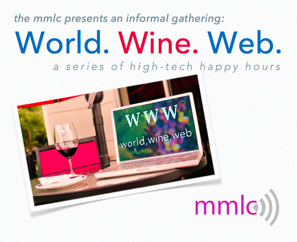World Wine Web postcard